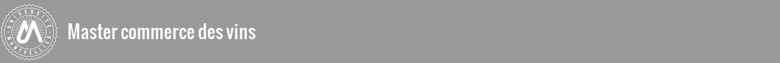 Master Commerce des vins Logo